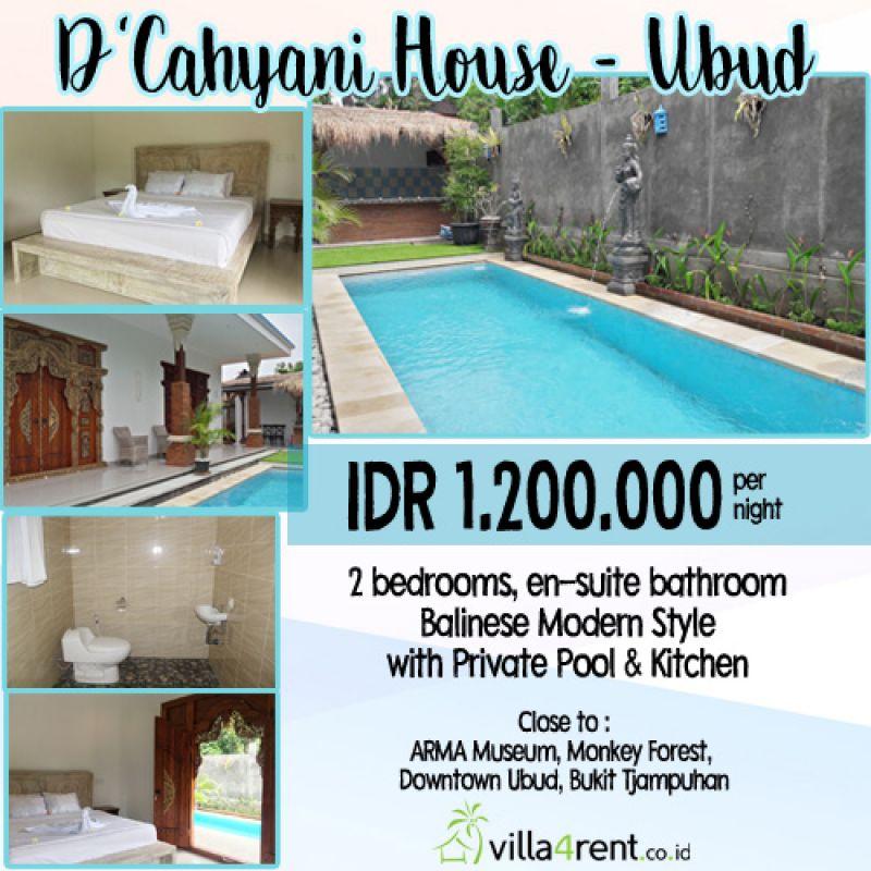 D' Cahyani Villa - Ubud (v4r)